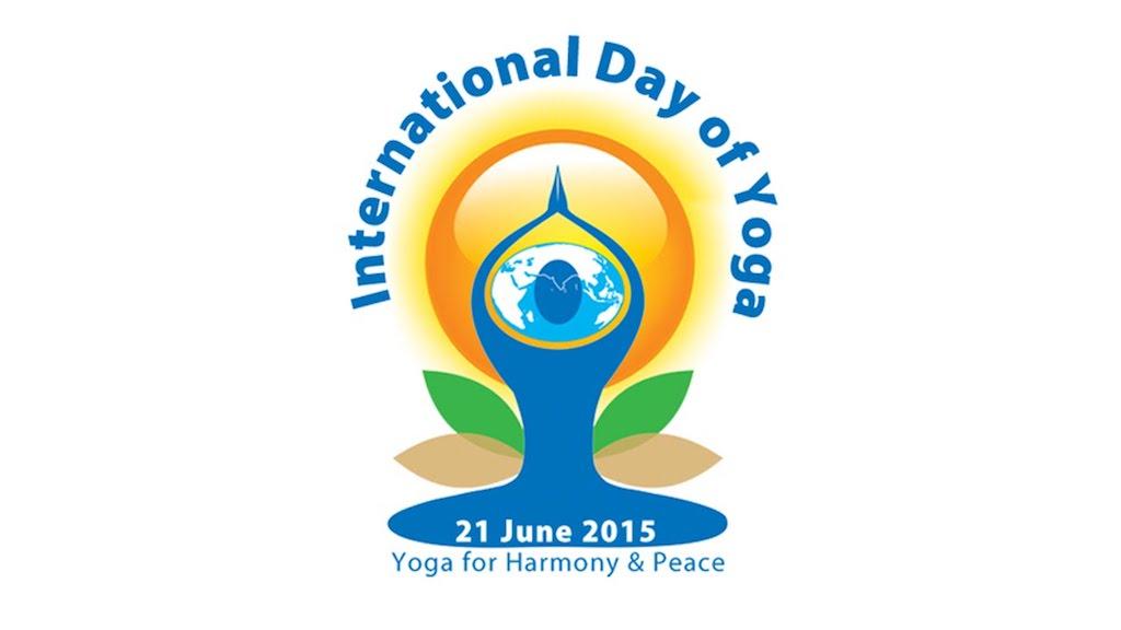 logo Giornata internazionale dello yoga