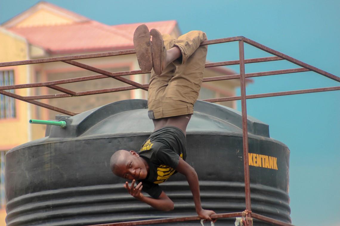 Kamau, uno dei protagonisti di Carnival! Nairobi