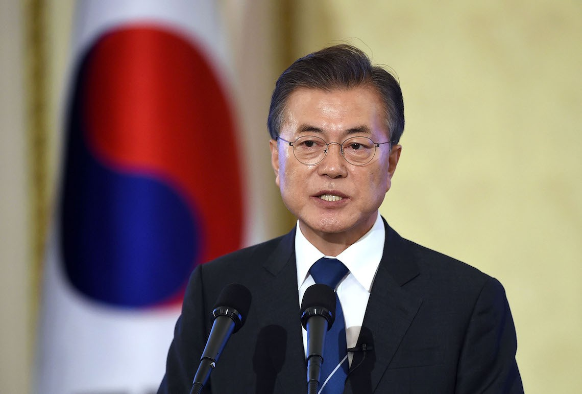 Moon Jae-in corea del sud