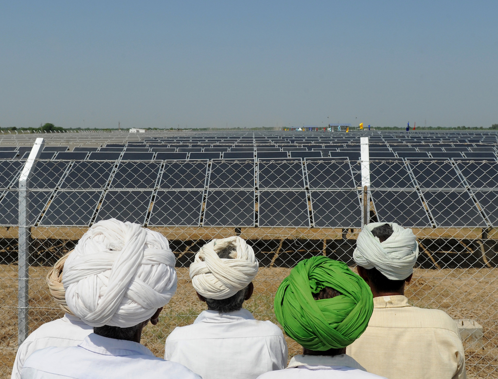 India fotovoltaico