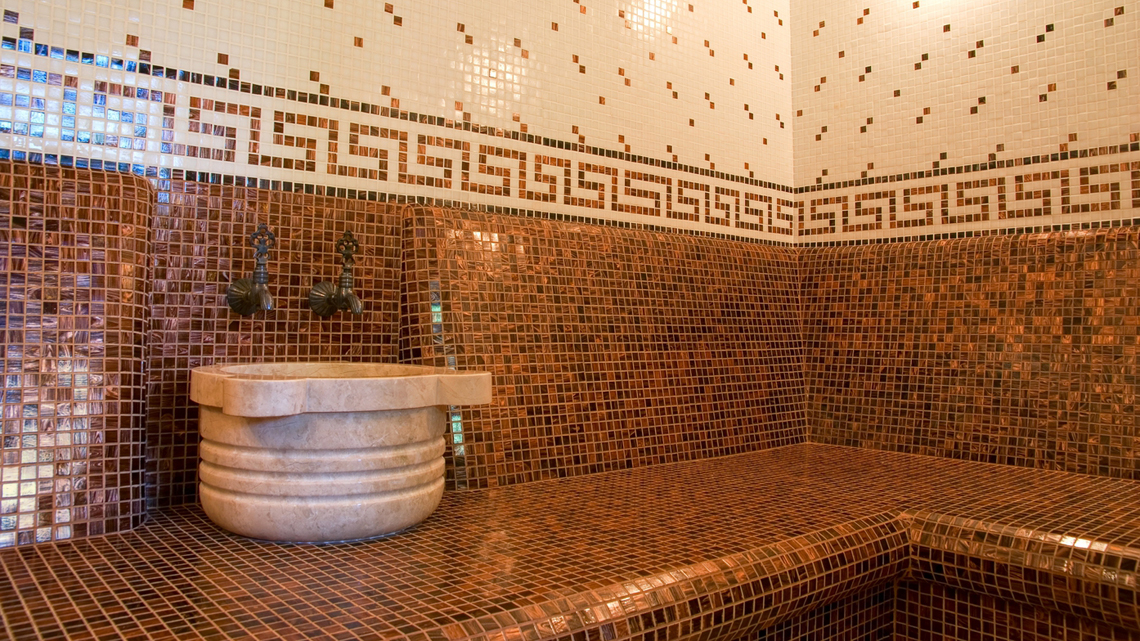 interno di hammam annalisa betti ingimage