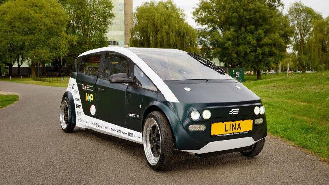 Lina, la prima auto elettrica fatta con lino e barbabietola - LifeGate
