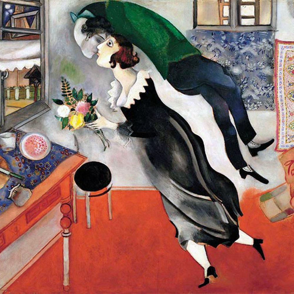 Marc Chagall, L'anniversaire, 1915