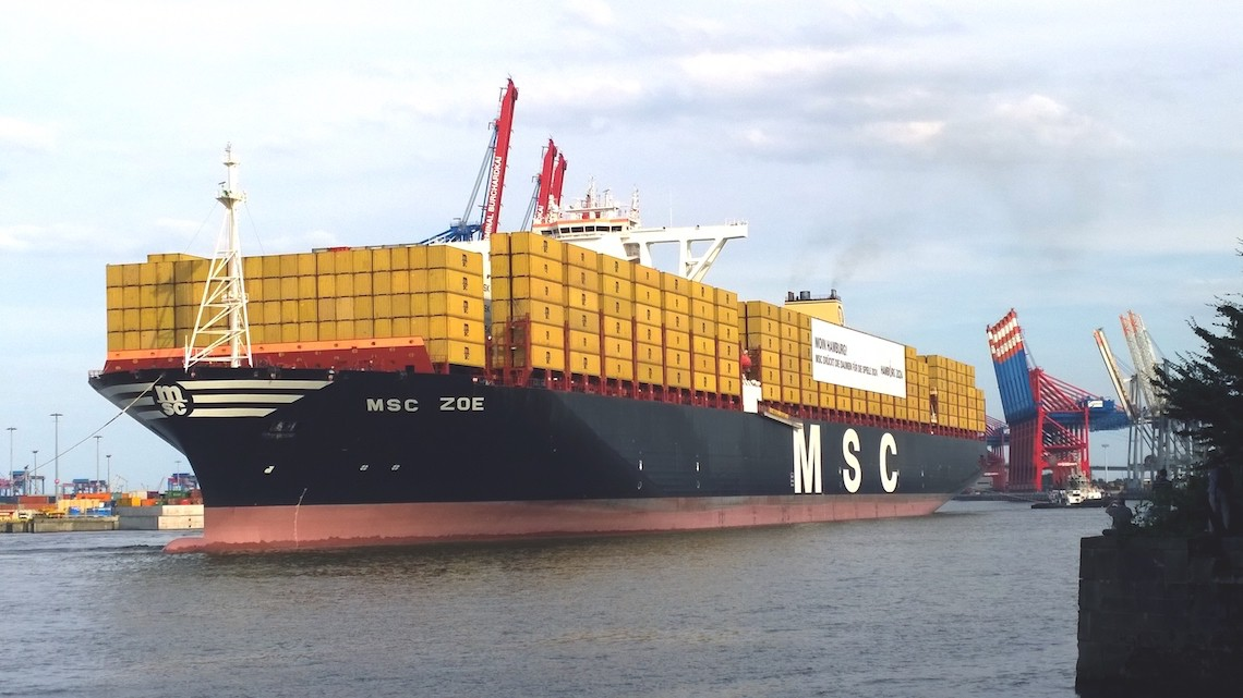 msc portacontainer