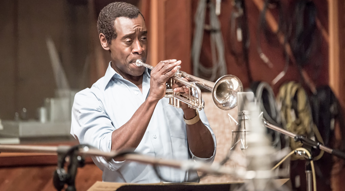 don cheadle miles davis playing in miles ahead