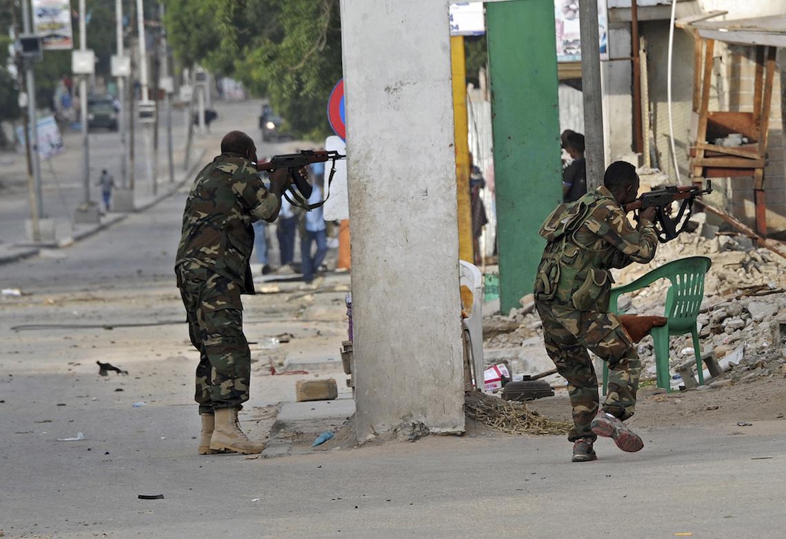 Mogadiscio hotel attentato