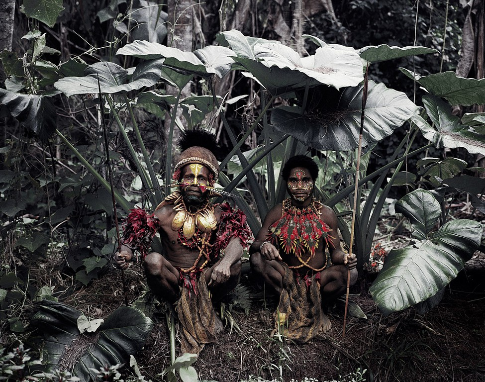 Popolo Kalam, Papua Nuova Guinea © Jimmy Nelson/Before They Pass Away