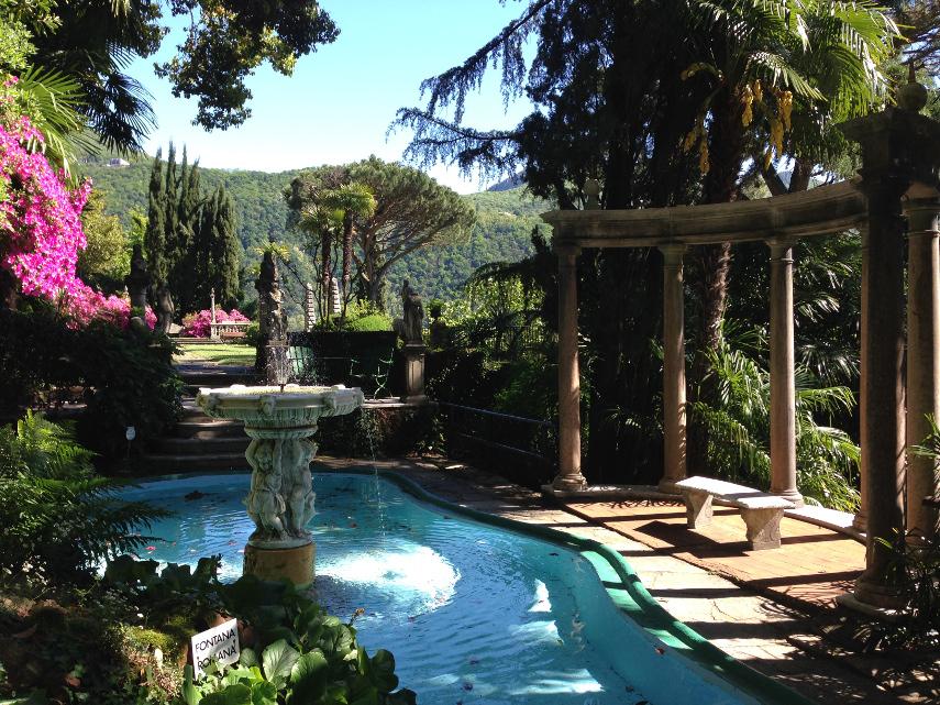 Il parco scherrer a morcote un giardino delle meraviglie - Il giardino delle meraviglie ...