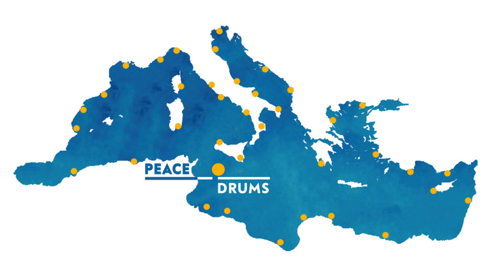 peace drums mediterraneo