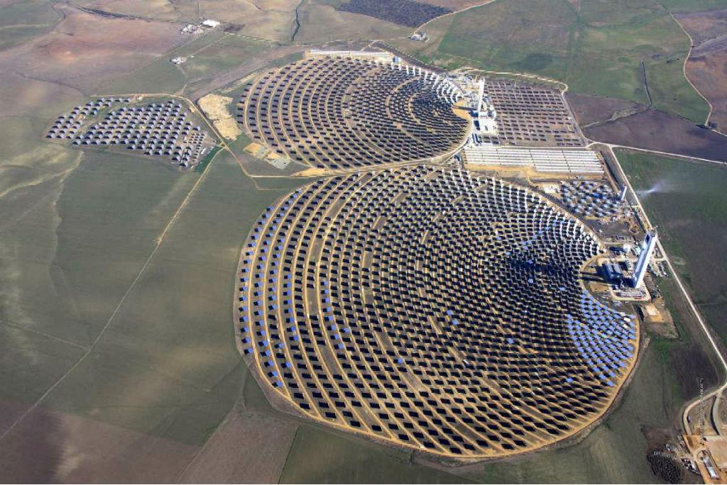 In cile la pi grande centrale solare del sud america lifegate - Centrale solare a specchi ...
