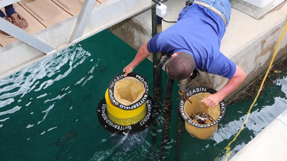 LifeGate PlasticLess per il mare, con Seabin