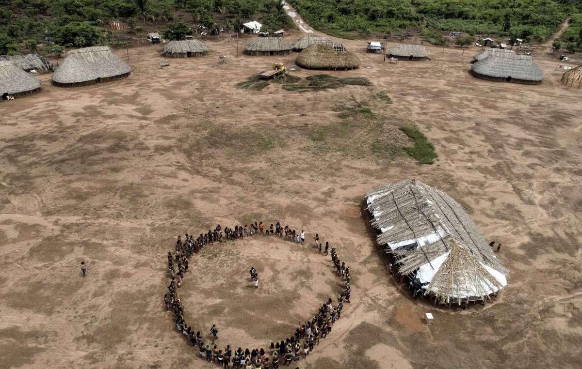 Proteste della tribù Wawi