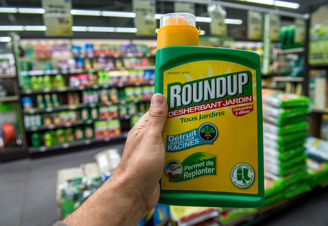 RoundUp is a product made of pesticide glyphosate owned by Monsanto ©PHILIPPE HUGUEN/Getty Images