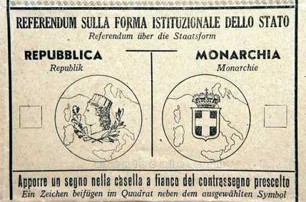 Perch il 2 giugno festa nazionale la repubblica for Senatori della repubblica italiana nomi