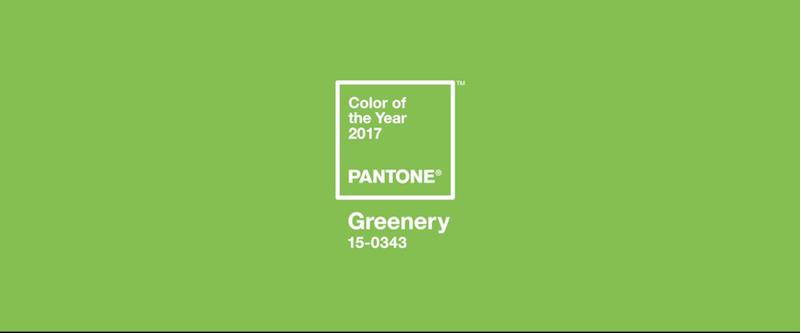 Il verde il colore dell anno 2017 per una societ che for Verde pantone 2017