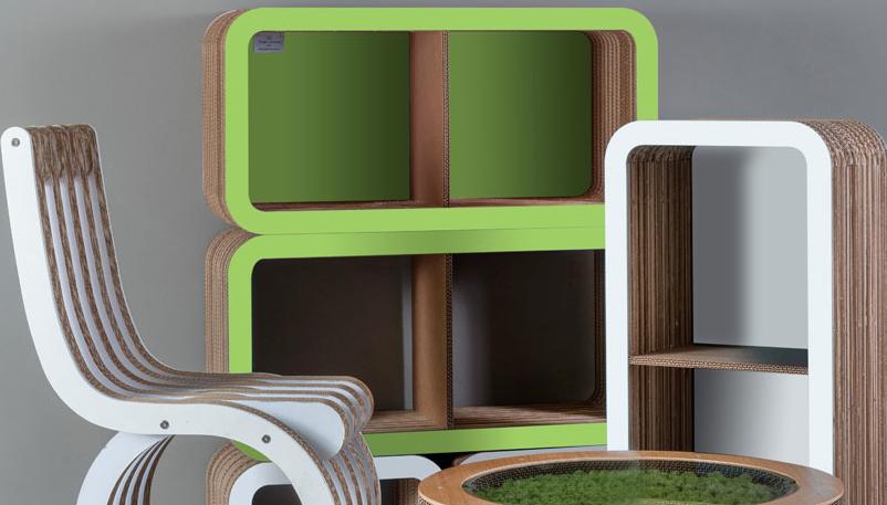 Il verde il colore dell anno 2017 per una societ che for Arredi ecosostenibili