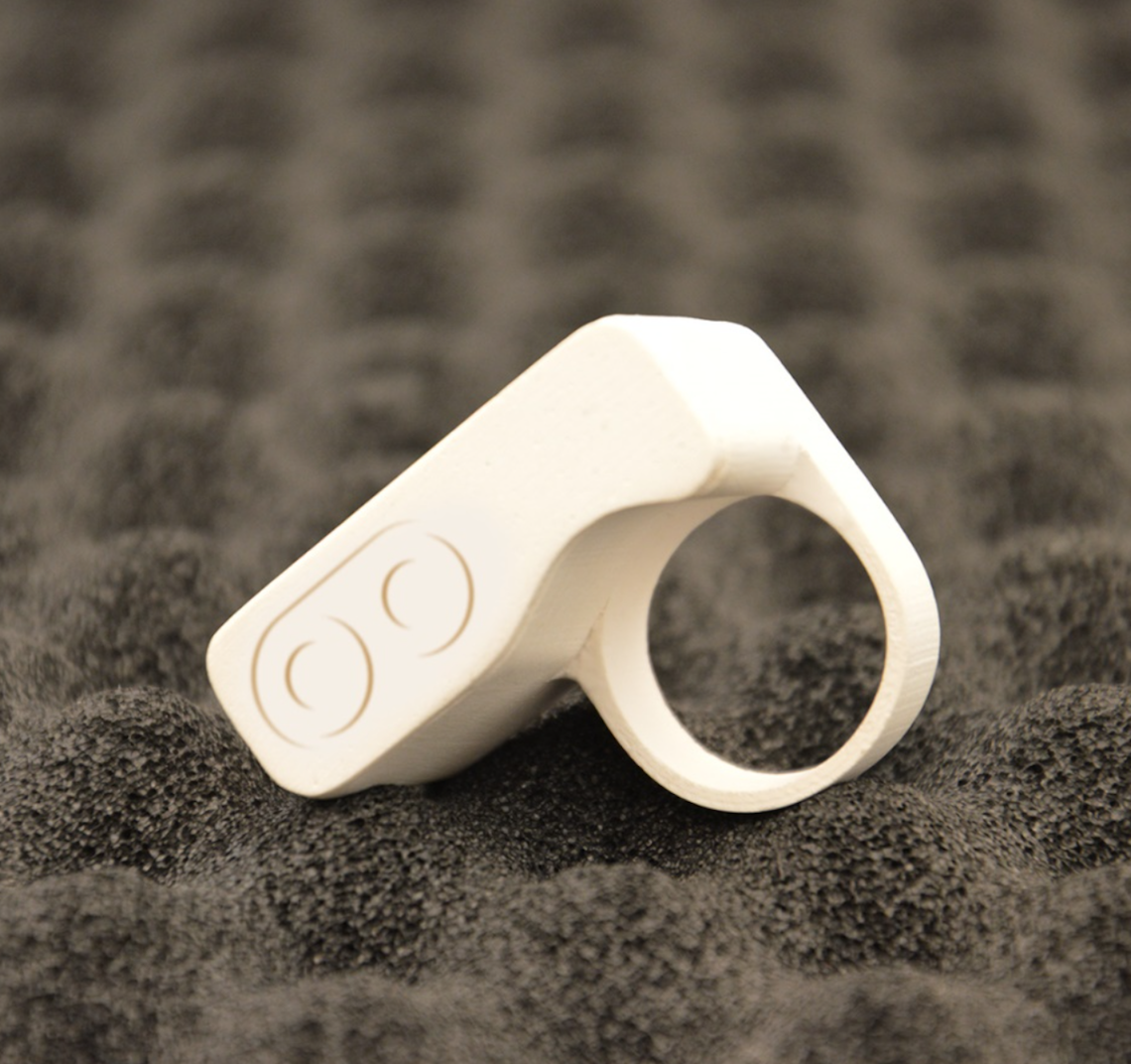 This ring is an essential component to the multi sensory experience © Courtesy of Tooteko