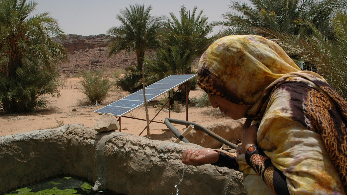 Energia solare per le aree rurali dell'Africa. Photo by Pallava Bagla/Corbis via Getty Images