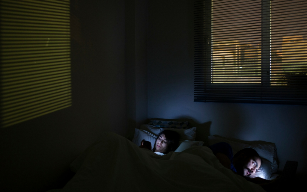 Tech in bed Hanif  Shoaei