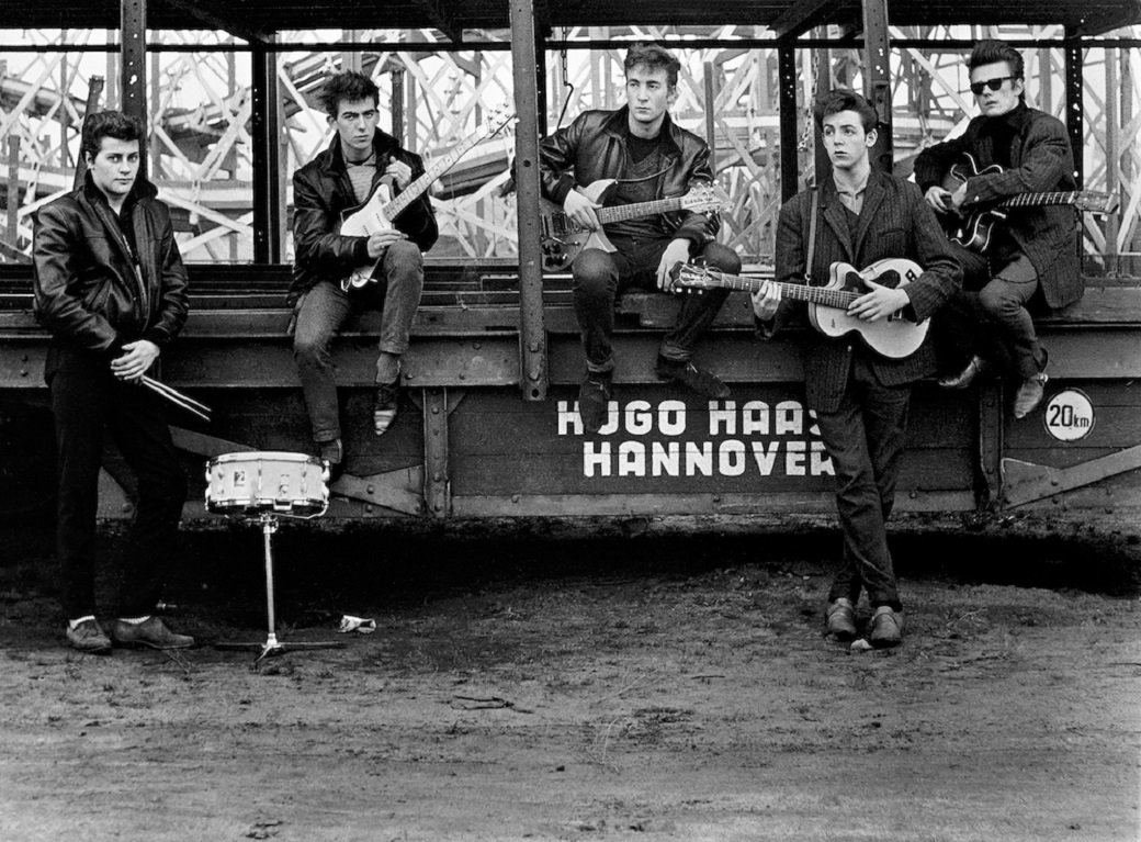 "a mostra ""Astrid Kirchherr with the Beatles"""