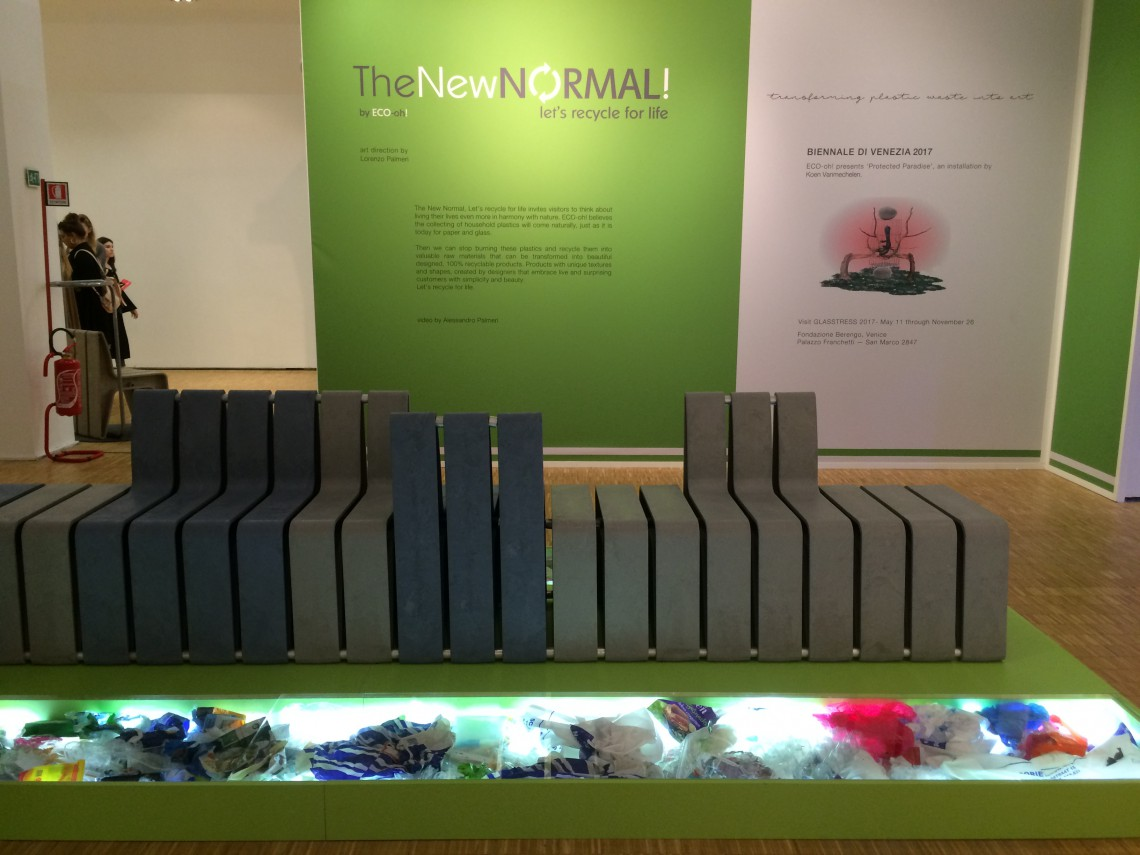 The New Normal. Let's recycle for life_Triennale_Milano