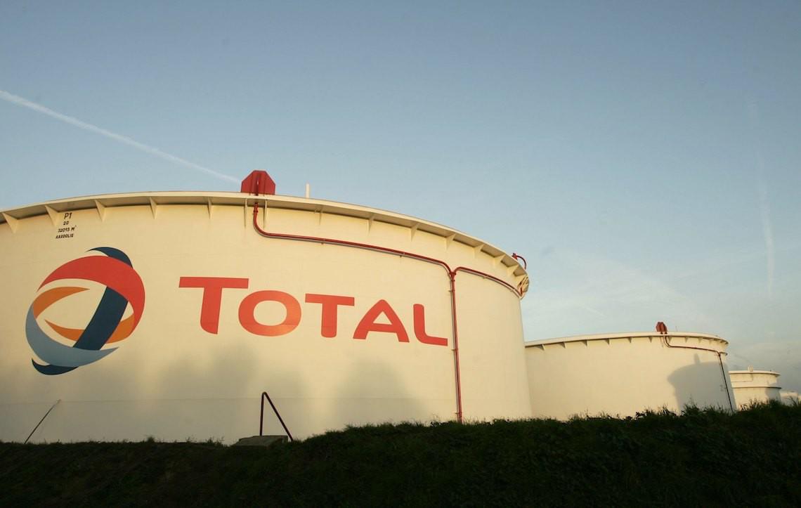 Una raffineria di Total