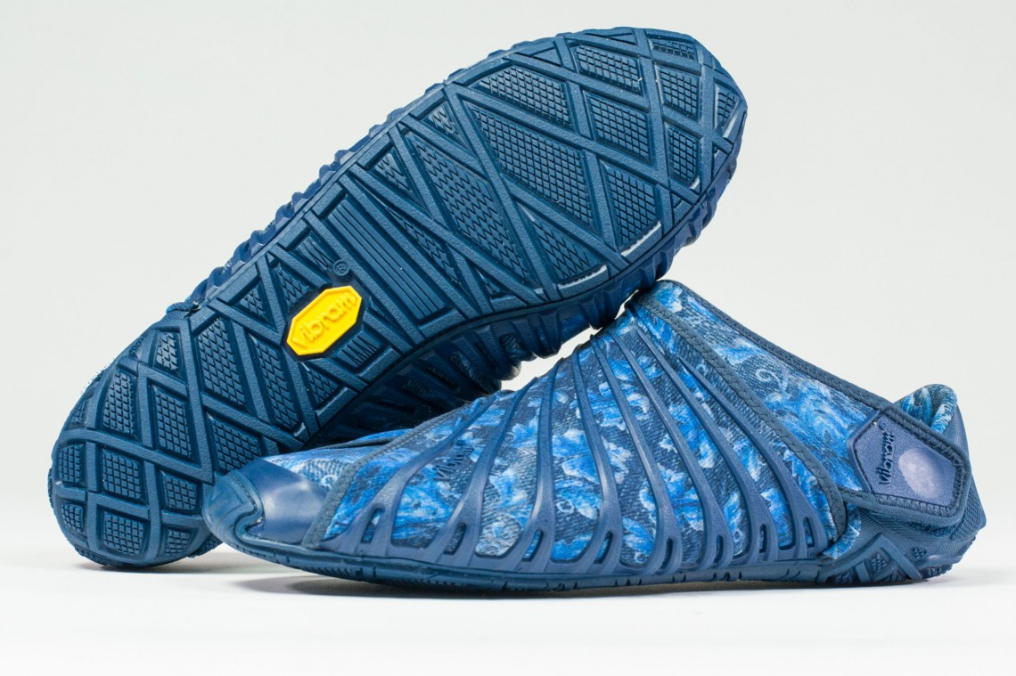 The wrapping sole, vibram furoshiki