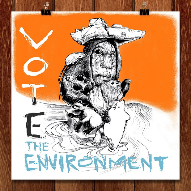 Vote the environment, Jeff Petersen