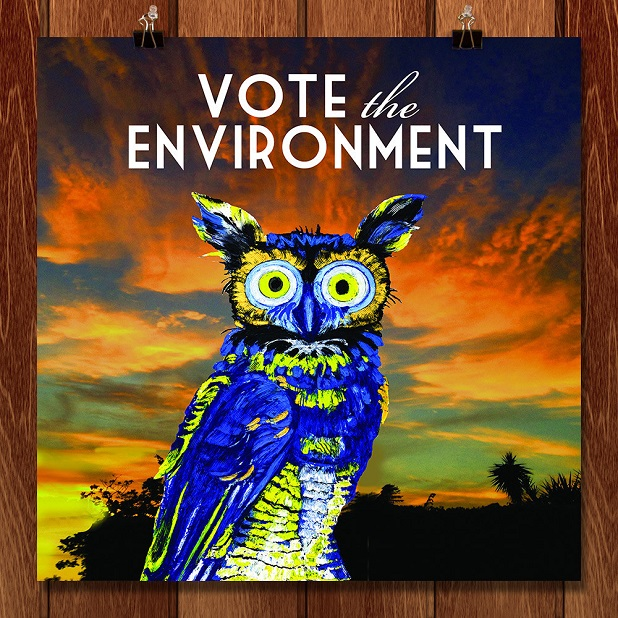 Vote the environment, Robbie Conal