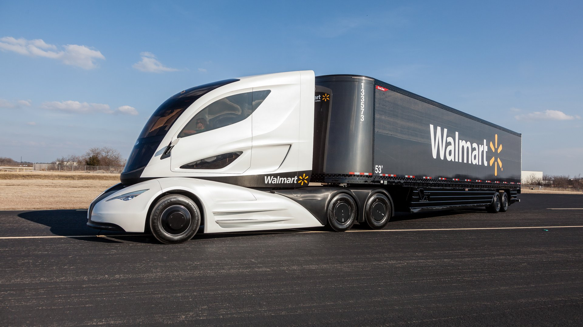 Ibrido aerodinamico e leggero il camion del futuro - Foto di grandi camion ...