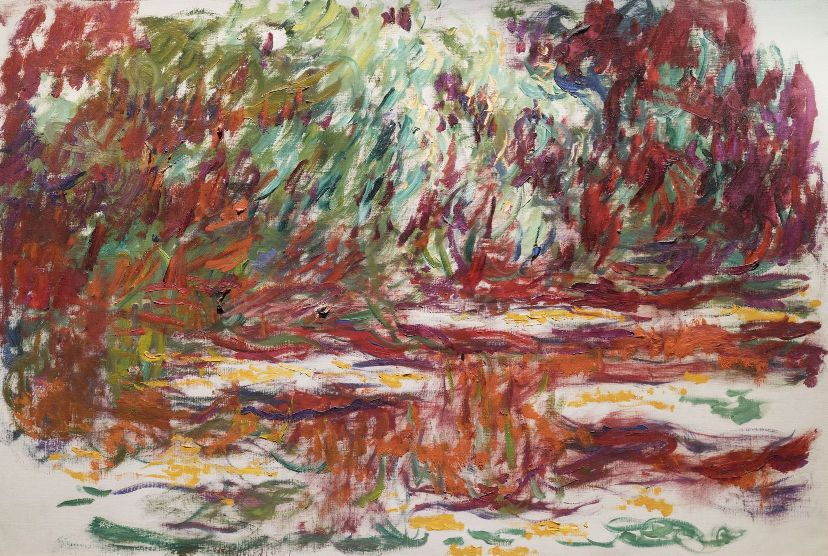 Water Lily Pond Monet