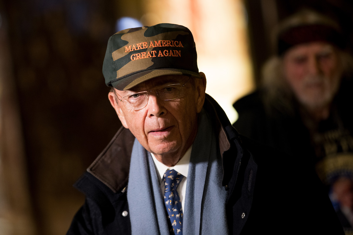 Wilbur Ross ©Drew Angerer/Getty Images