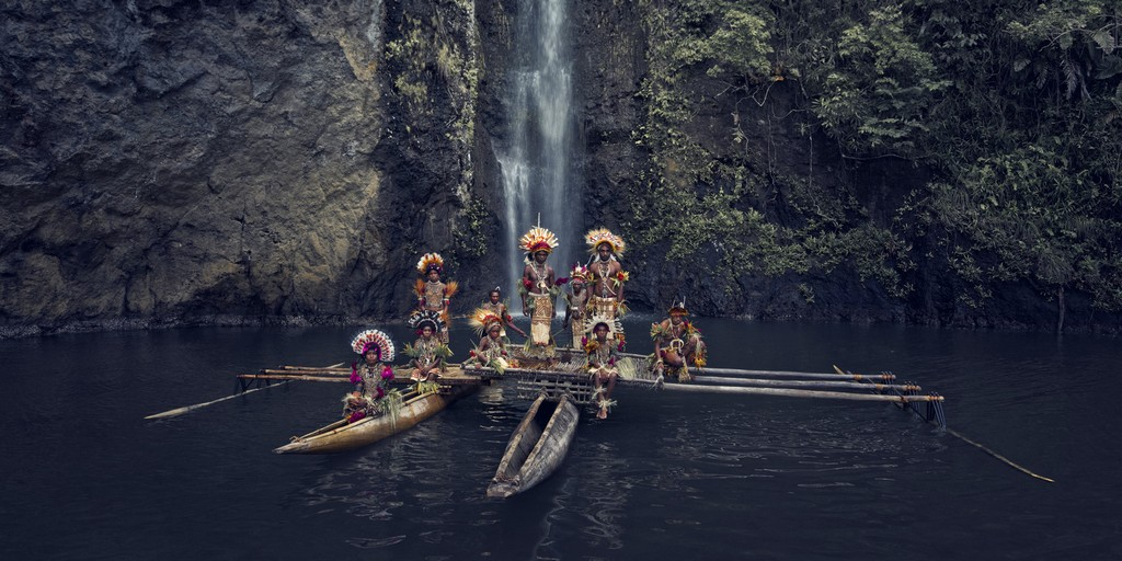 Clan Uramana, Amuioan. Tufi, Papua Nuova Guinea, 2017 © Jimmy Nelson/Before they pass away
