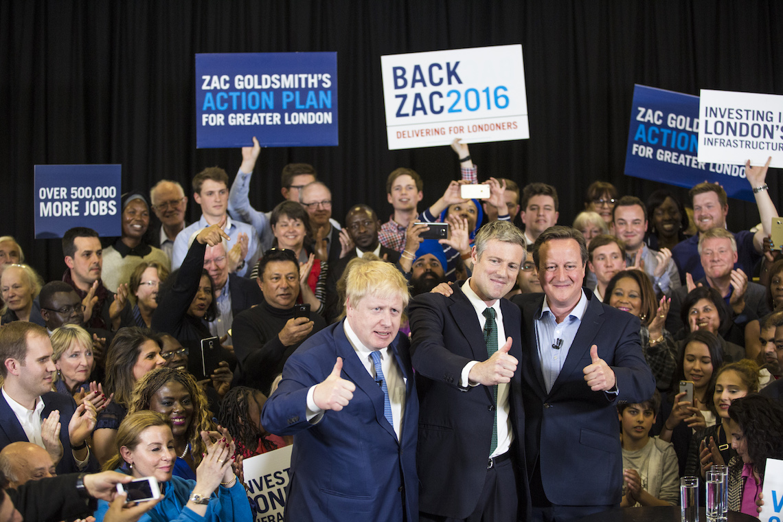 Zac Goldsmith Londra