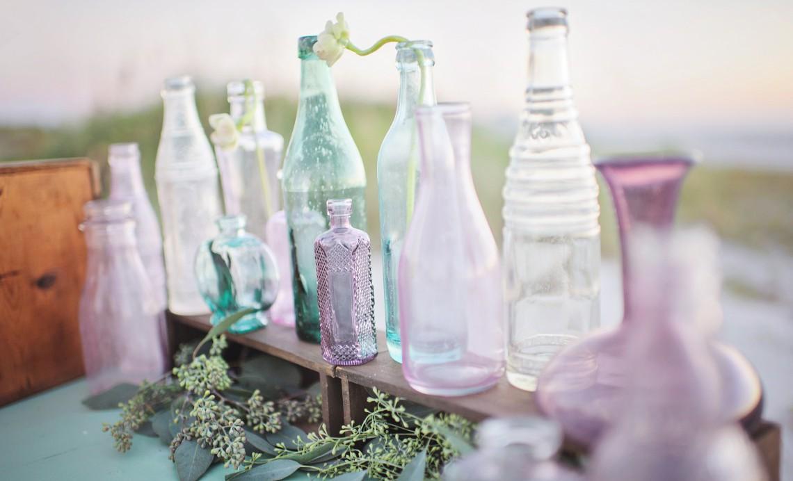 Accessori Per Il Bagno Fai Da Te : Modi per riciclare le bottiglie di vetro lifegate