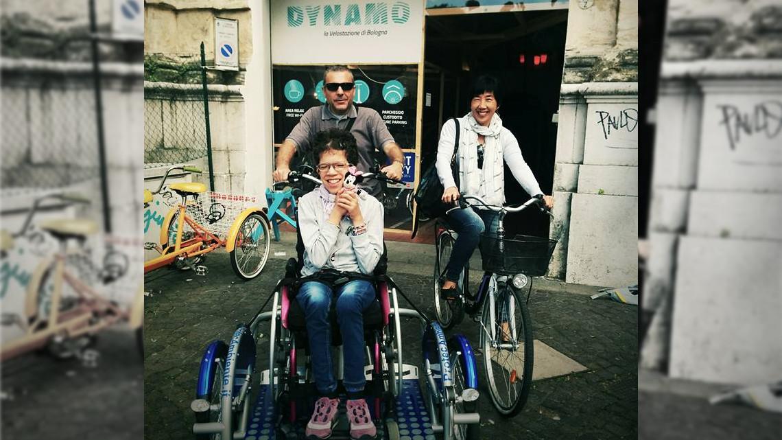 Aspasso La Bici Per Disabili Che Creerà Un Nuovo Turismo In Città