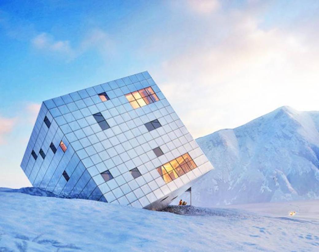 Un viaggio nei rifugi ecosostenibili tra le montagne pi for Ski designhotel