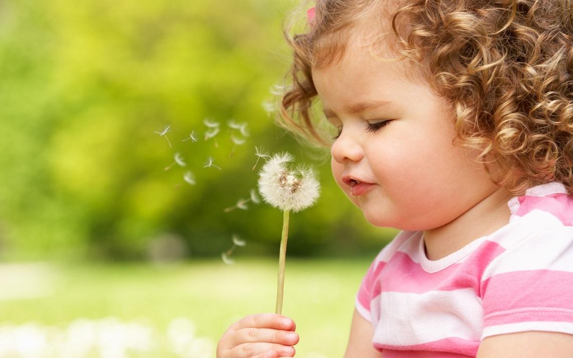 bambina fiore