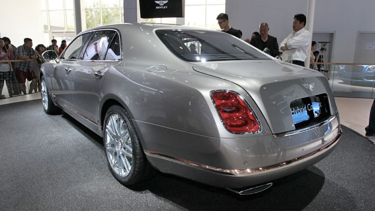 Bentley Hybrid Concept al Salone di Pechino 2014