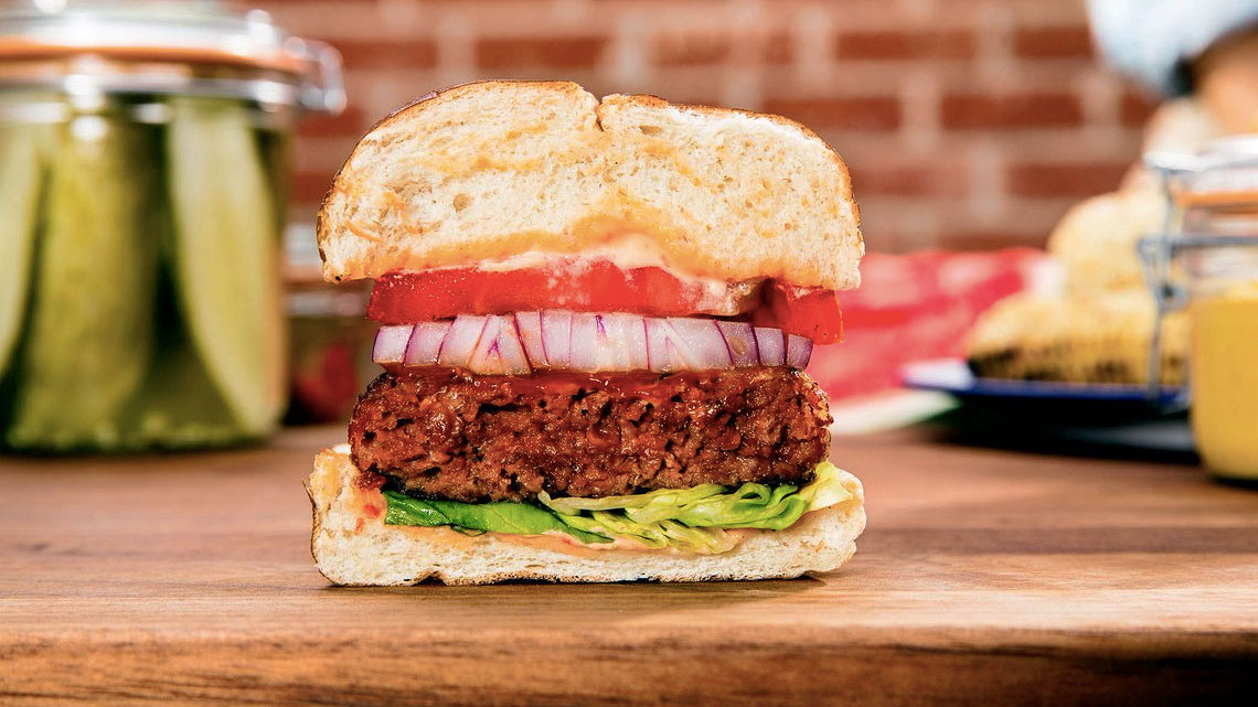 L'hamburger di Beyond Meat
