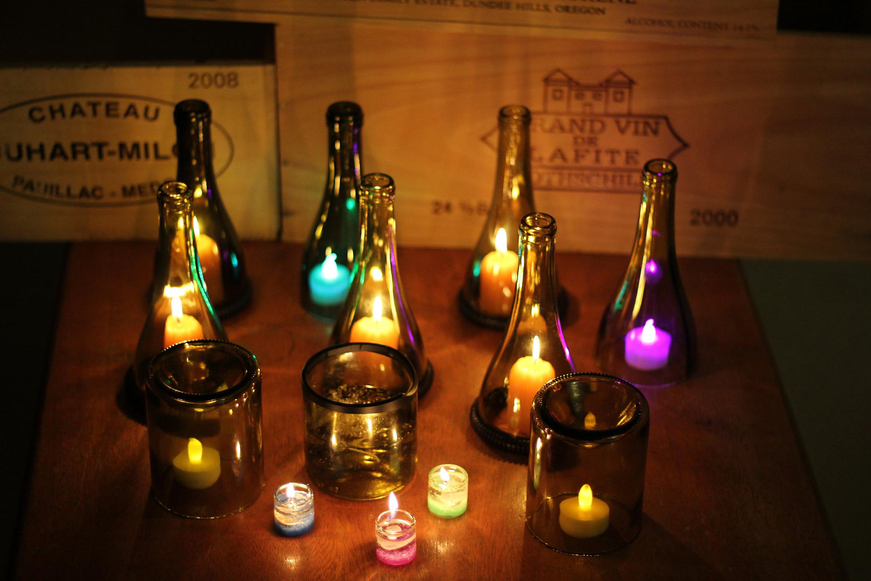 Kit pezzi adattatore portalampada per bottiglia completi con