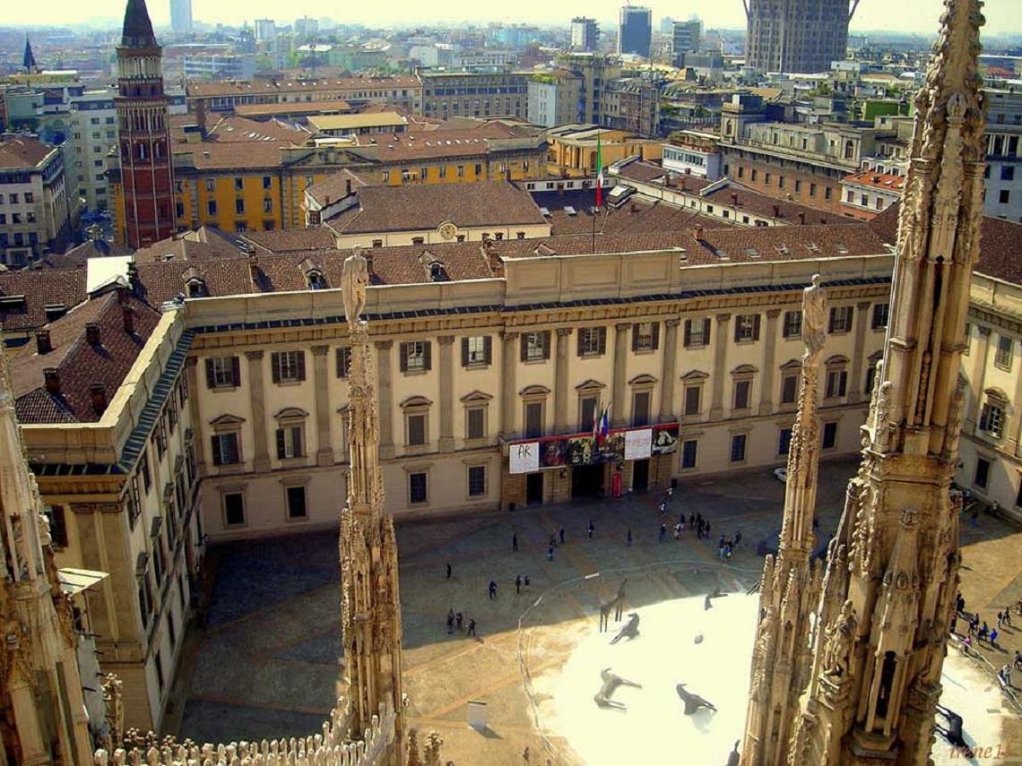 Palazzo Reale, dove si svolge la mostra Italiana