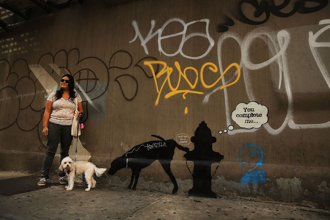 banksy nyc dog