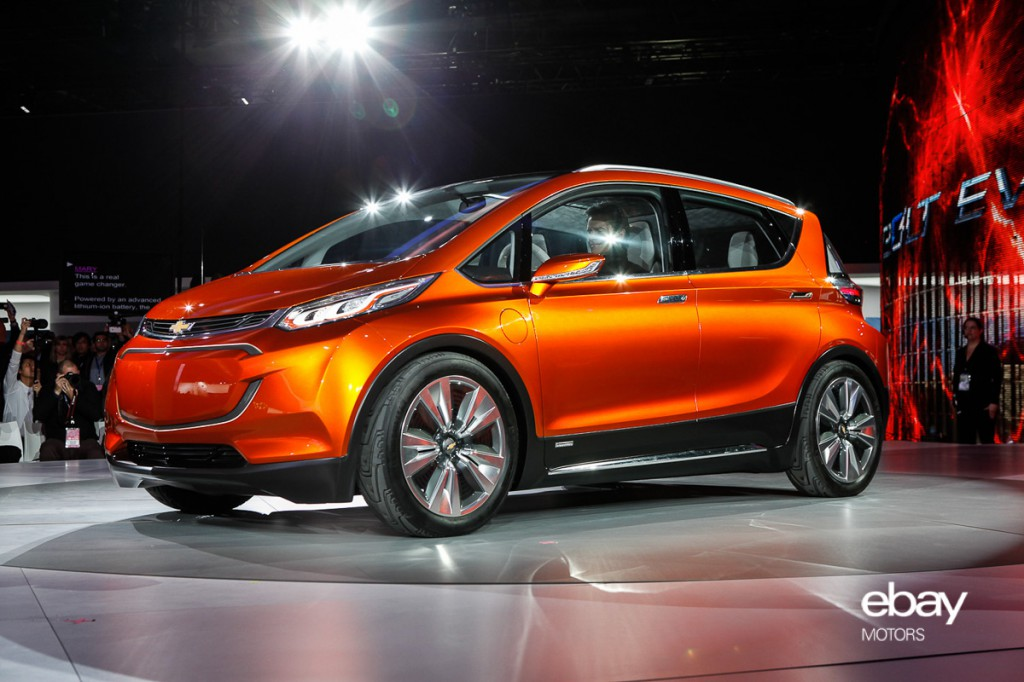 Chevrolet Bolt Concept at 2015 NAIAS