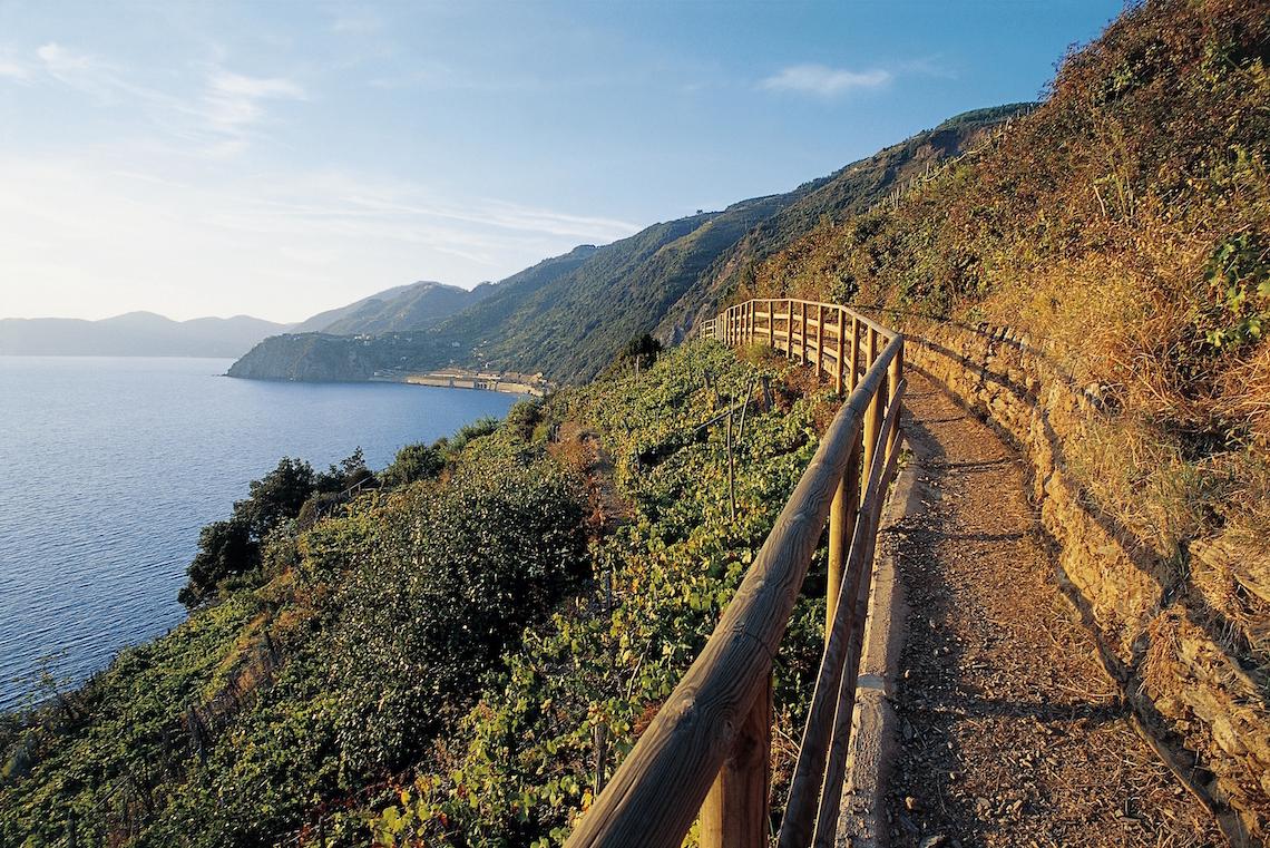 Los caminos junto al mar, una de las maravillas de Cinque Terre