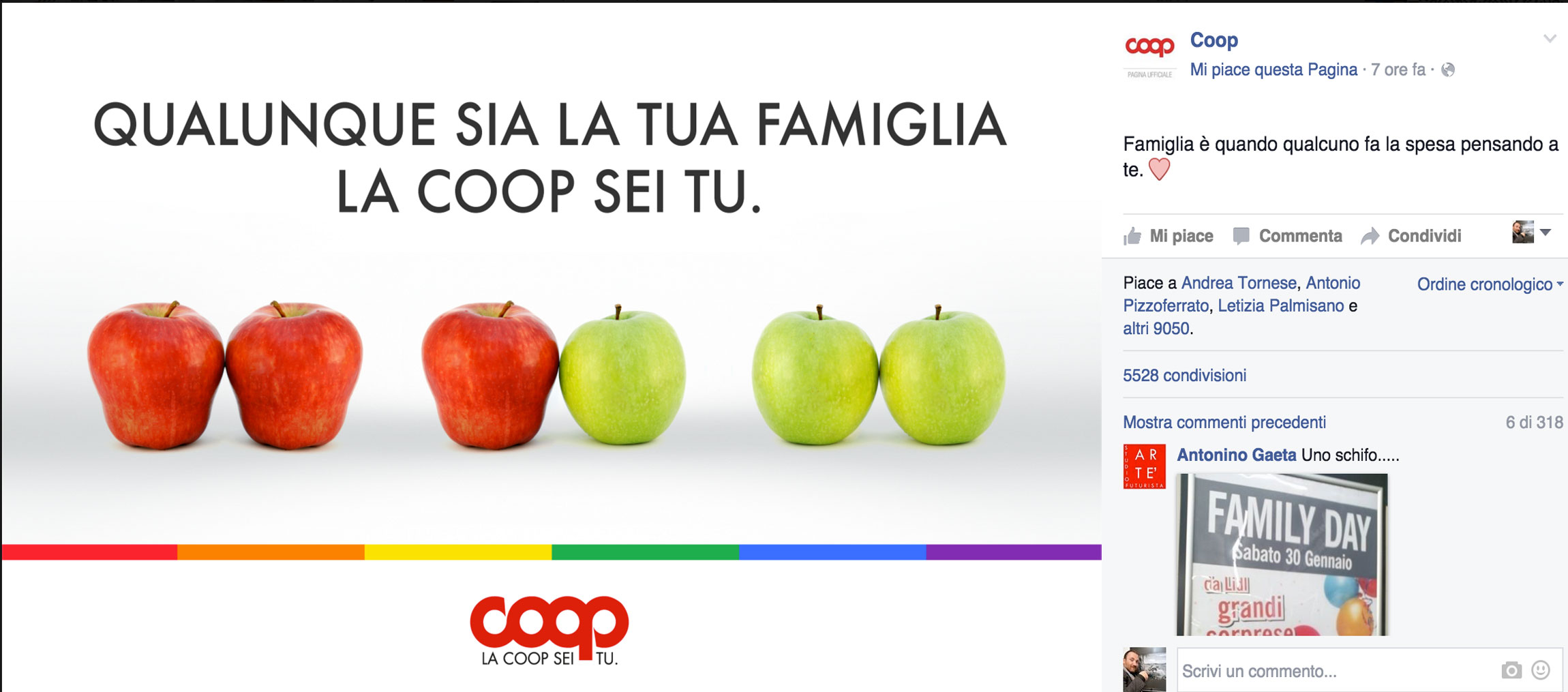 Coop e Family Day.