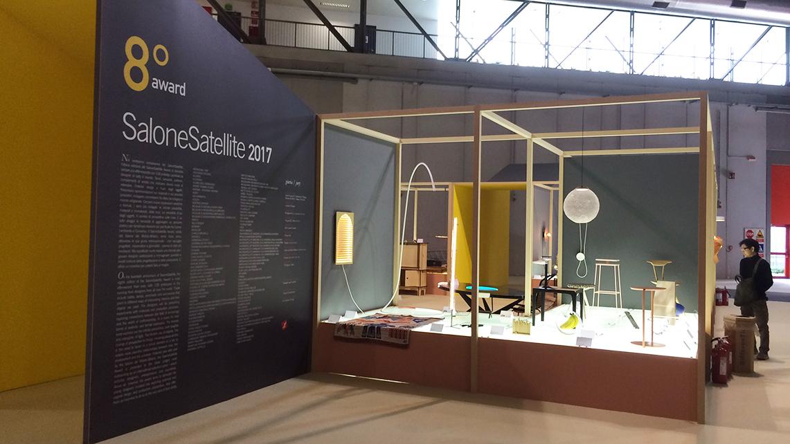 Salone satellite 2017 i progetti e le scuole di design for Classi di design del mobile