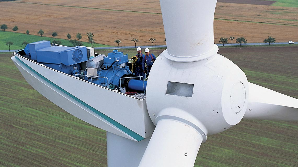 Cos 39 una turbina eolica funzionamento e dimensioni for Componenti d arredo moderni