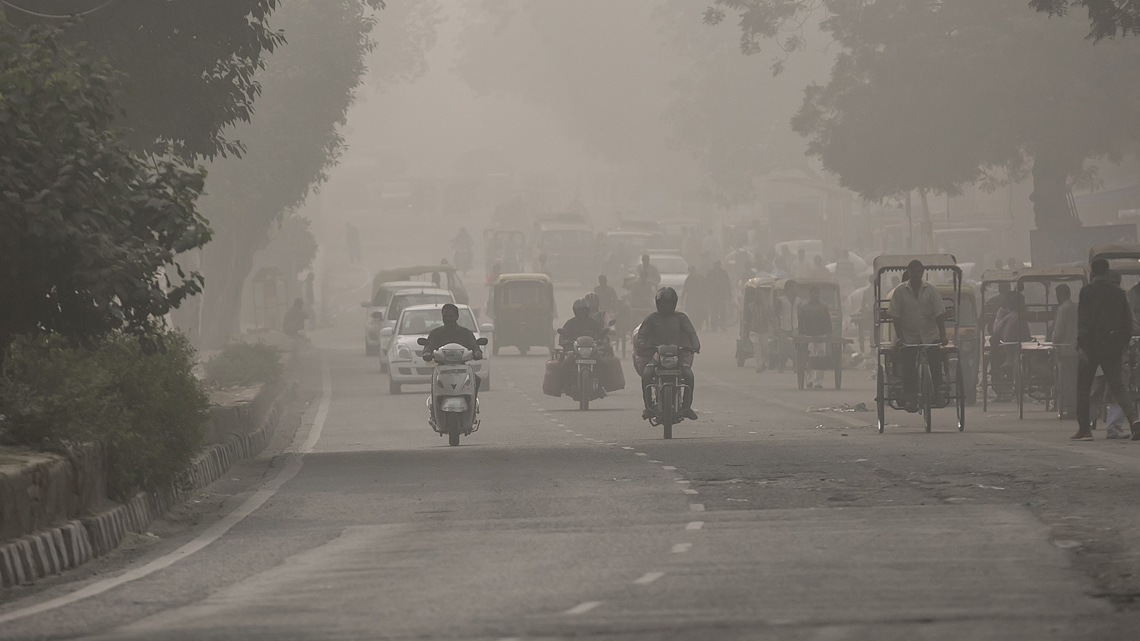 Delhi, India, inquinamento