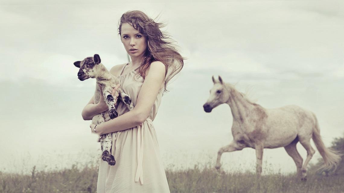 con animali